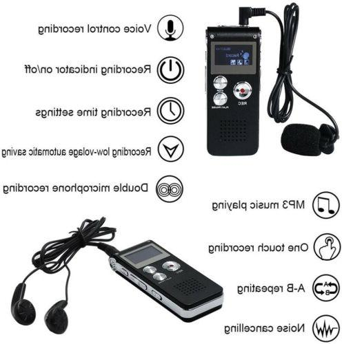16GB Voice Activated Digital Sound Dictaphone
