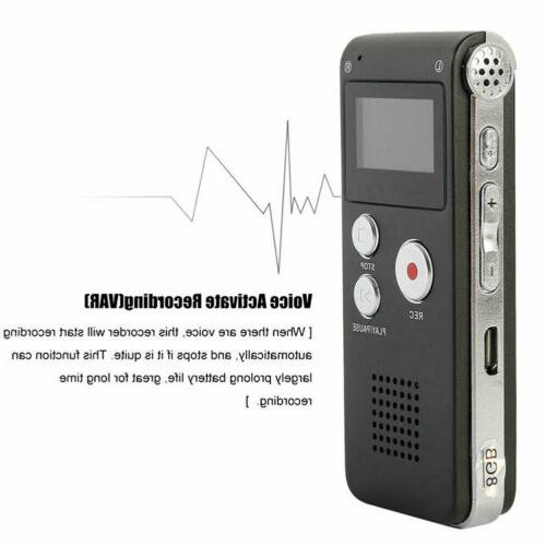 16GB Sound Dictaphone Player