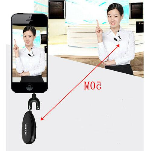 2.4G Wireless for Voice Amplifier iPhone Recording sound