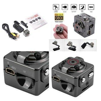 2 Pieces SQ8 Mini Camera TF Card Voice Recorder Night Vision