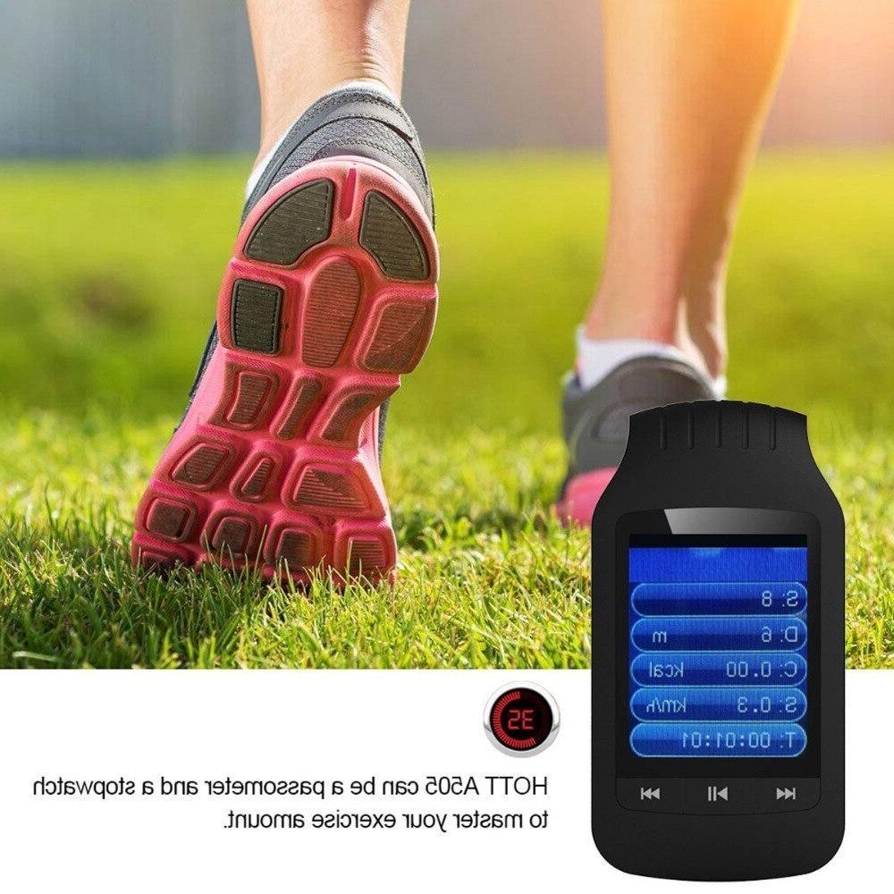 2019 Bluetooth player 8GB Sport Radio <font><b>recording</b></font> Pedometer Support