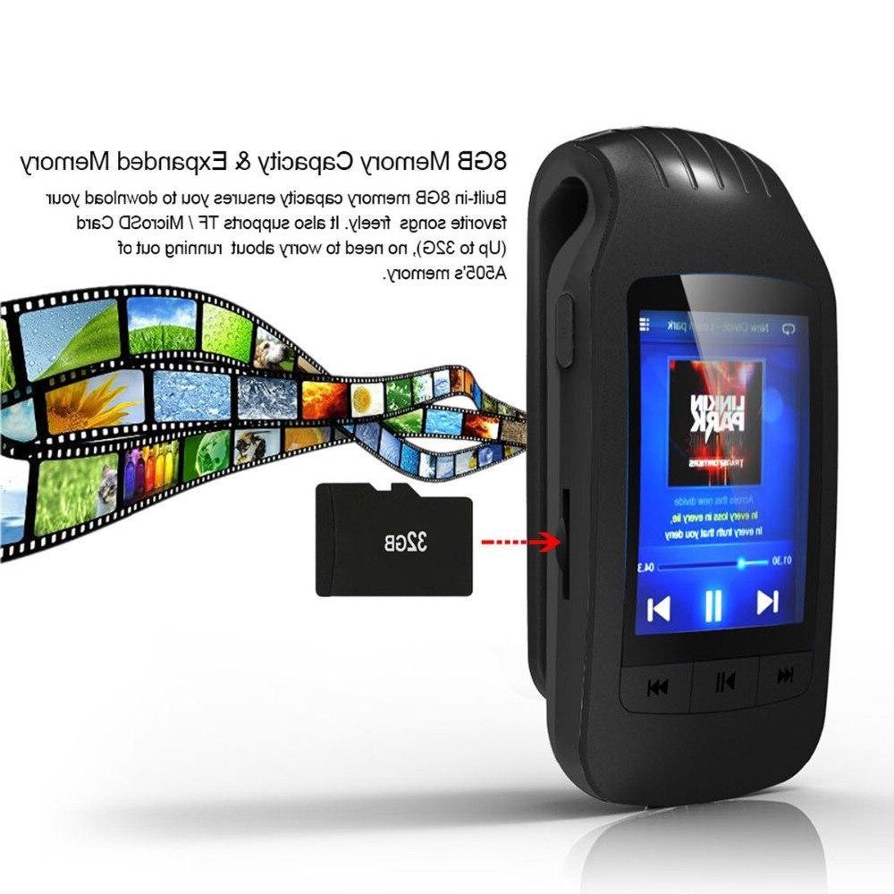 2019 Portable Bluetooth player Radio <font><b>recording</b></font> Pedometer