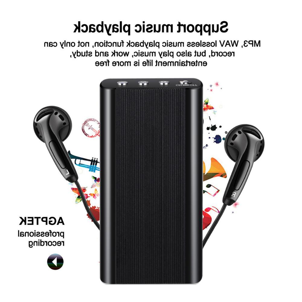 240 Digital Voice Activated Recorder Mini Audio Player