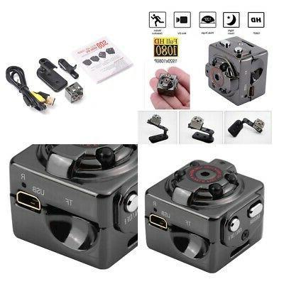 2x SQ8 High Mini Camera TF Card Voice Recorder Night Vision