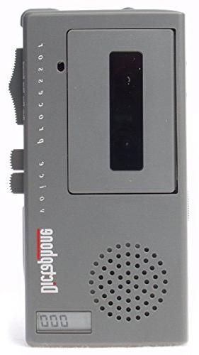 3254 handheld portable microcassette recorder