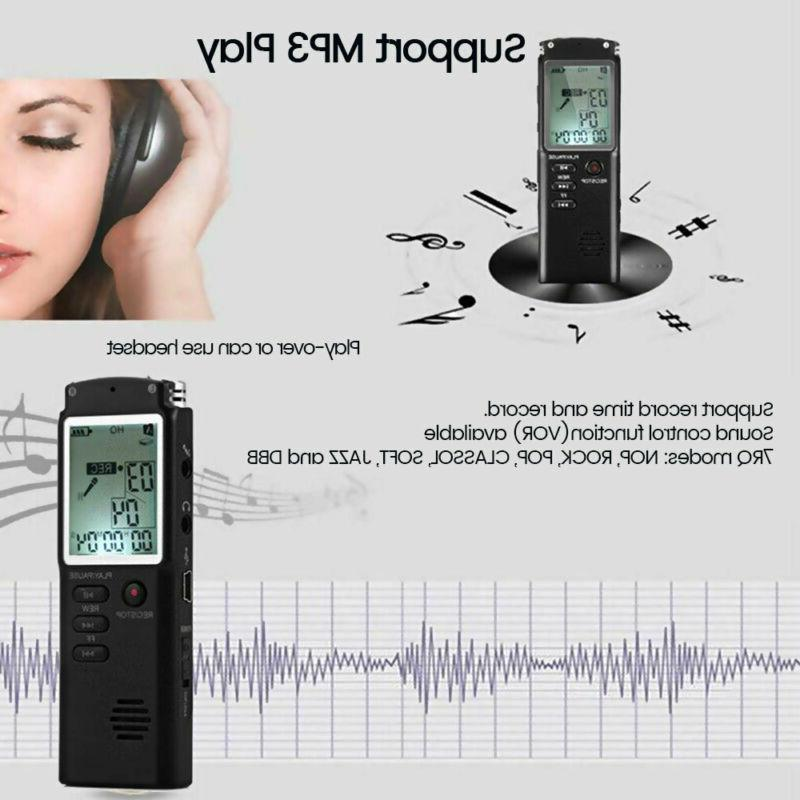 32G Rechargeable Dictaphone MP3