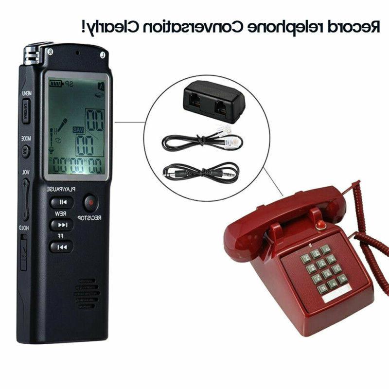 32G Sound Voice Recorder Dictaphone