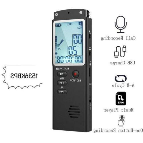 32GB Rechargeable LCD Audio/Sound/Voice Player