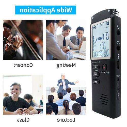 32GB Audio/Sound/Voice Dictaphone Player