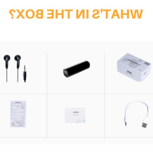 32GB Spy Voice Digital Audio Magnetic Voice Activated