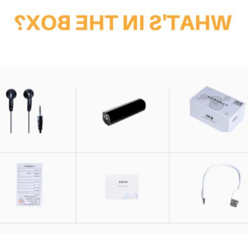 32GB Spy Voice Digital Audio Magnetic Voice Activated
