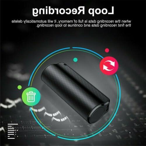 4GB~32GB Spy Voice Magnetic Audio MP3