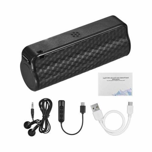 4GB~32GB Recording Voice Magnetic Audio MP3