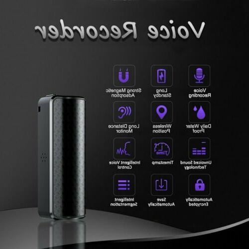 4GB~32GB Voice Recorder Magnetic Audio