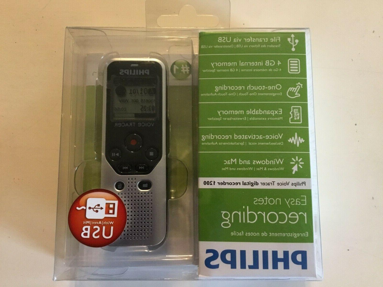 Philips Portable Notes Digital Voice 1200