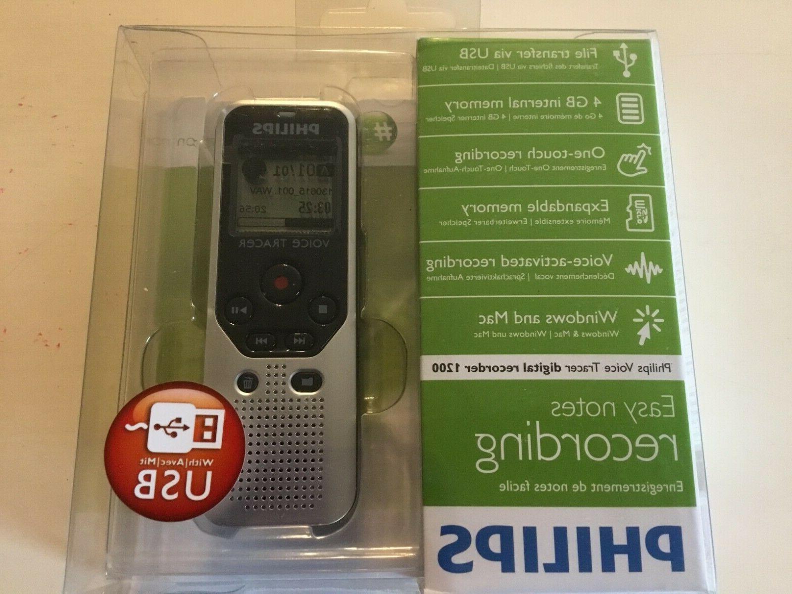 4gb portable easy notes digital voice recorder