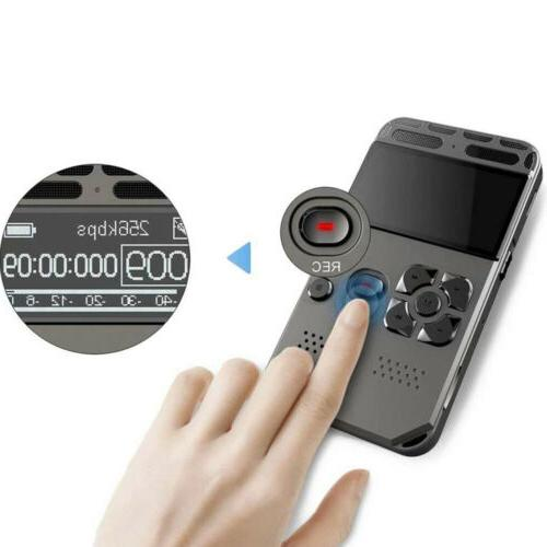 64G Rechargeable Audio Dictaphone