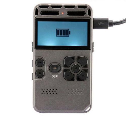 64G Audio Sound Voice Recorder Dictaphone