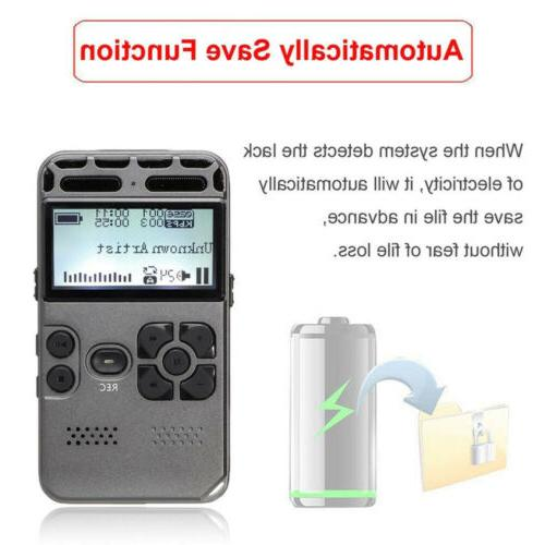 64GB Audio Dictaphone