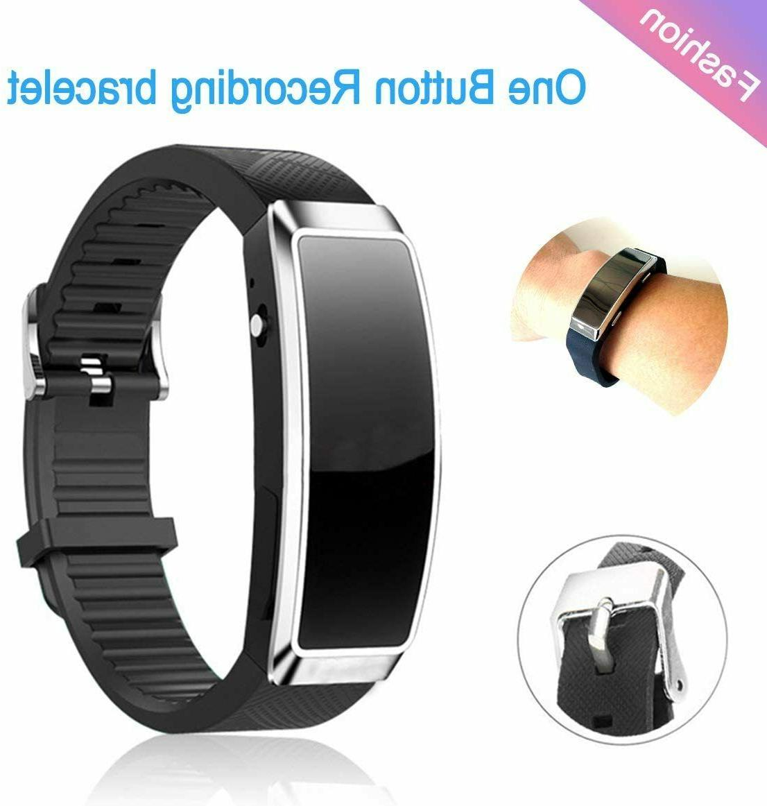8G Digital Voice Recorders Wrist Watch Business Dictaphone