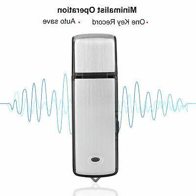 8GB/16GB Voice Digital Audio Dictaphone Player