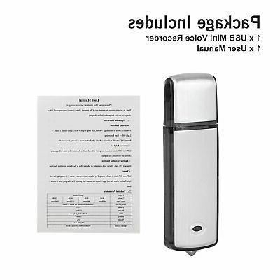 8GB/16GB Voice Activated Digital Dictaphone MP3