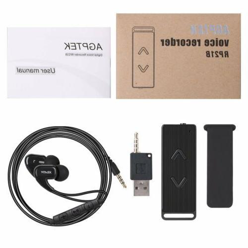 AGPTEK 8GB HD Cancelling Digital Audio Voice Sound