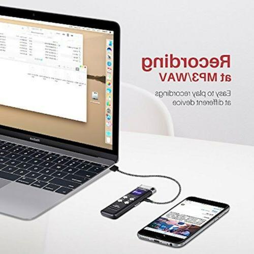 EVISTR Digital Recorder with - Portable