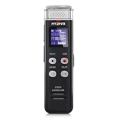 8gb digital voice recorder with playback portable