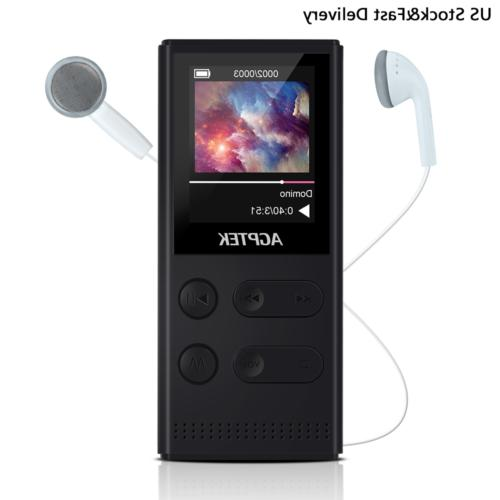 8gb mp3 player with fm radio voice