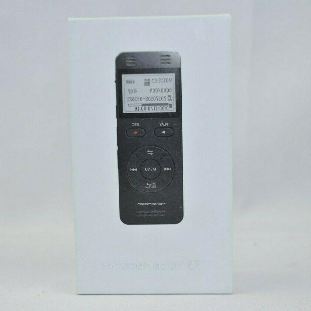 8gb mp3 voice recorder player new open
