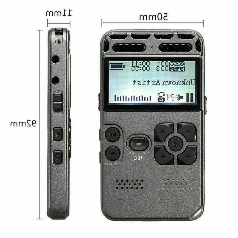 8GB Audio Dictaphone
