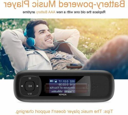 AGPTEK Flash Mp3 Player,Suport 2.0 Speed Transfer