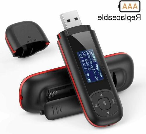 8gb replaceable aaa battery lossless music quality