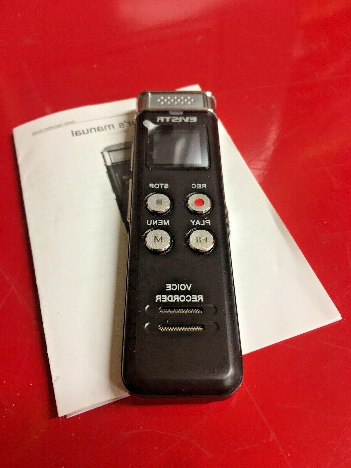 Evistr 8GB Voice Mini Dictaphone