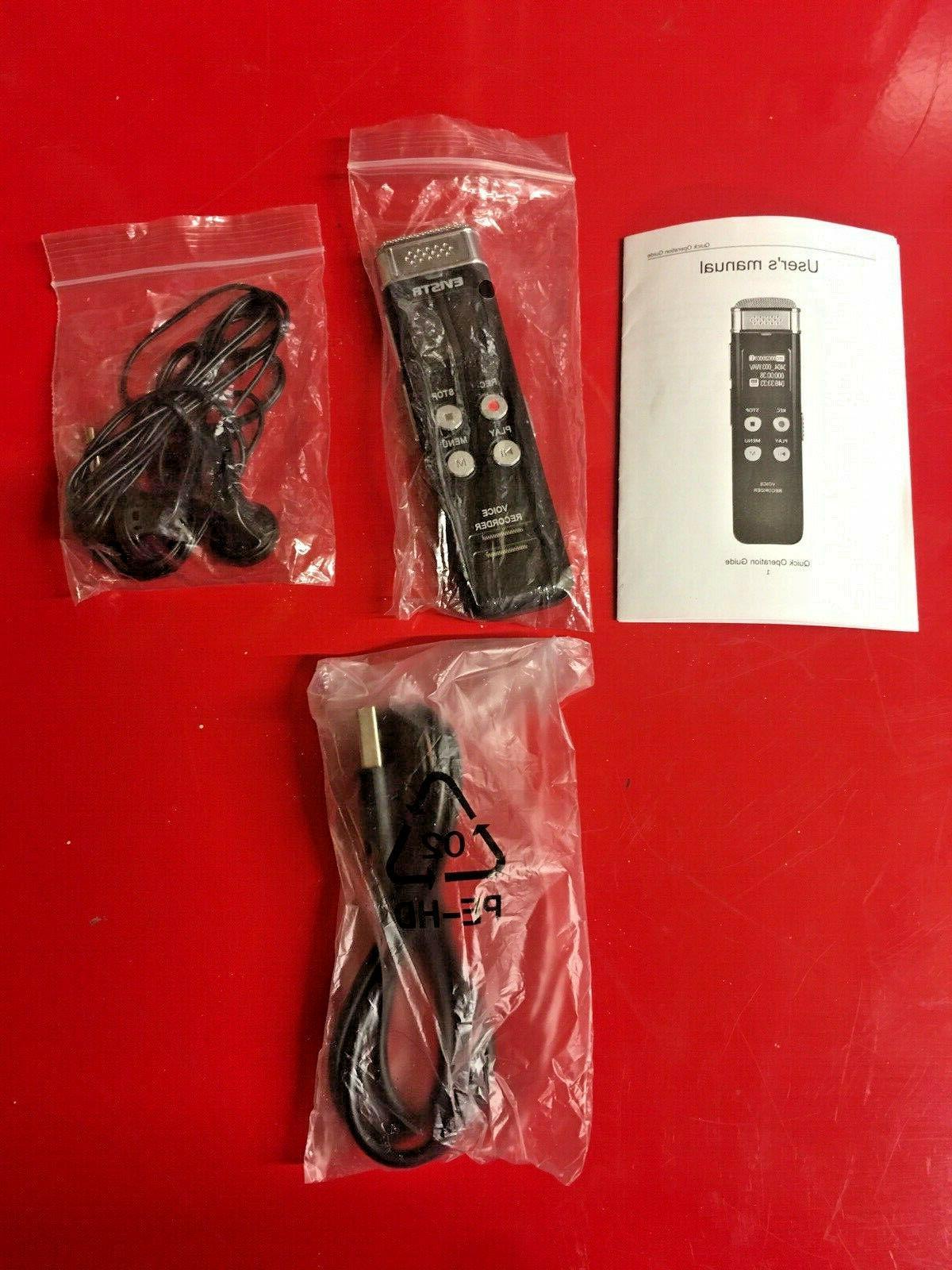 8gb slim digital voice recorder mini audio