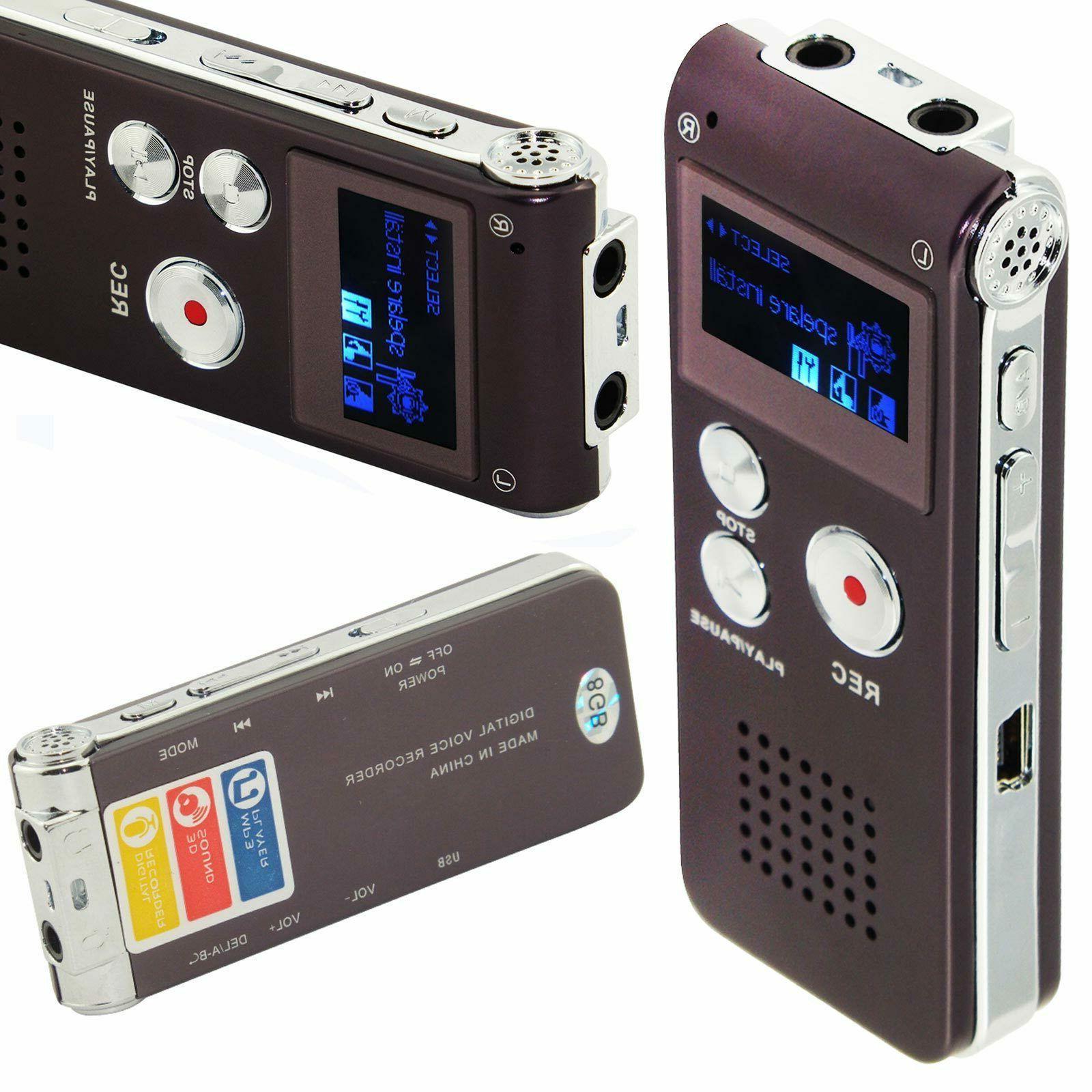 8GB Dictaphone