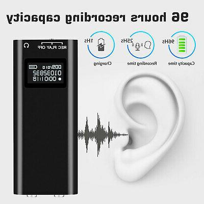 LCD Recorder Voice Activated Listening Device 96 Bug