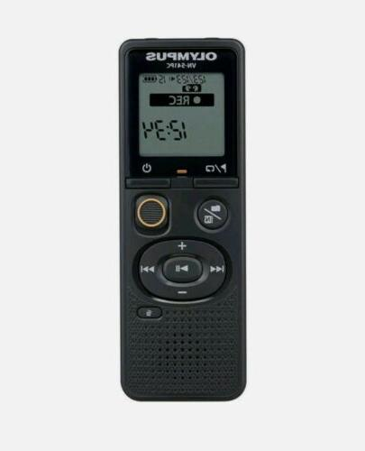 Olympus - Vn-series Digital Voice Recorder - Black