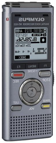 Olympus WS-822 GMT Voice Built-In-Memory