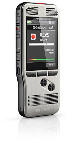 Philips Memo Voice Push Button Operation