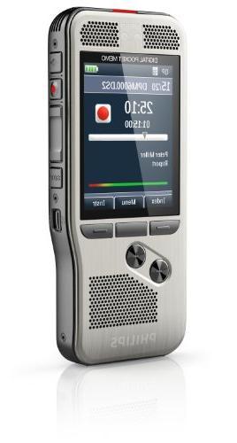 Philips Digital Memo Voice Push Operation