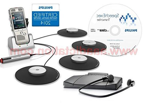 Philips DPM8900DT Complete Digital Conference Recording & Tr