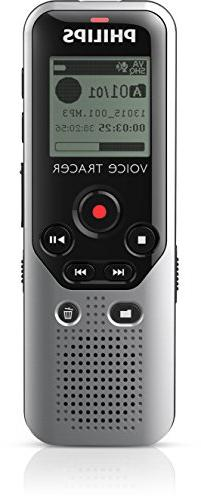 Philips Voice Tracer Audio Recorder Optimized for Note Takin