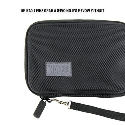 USA Slim Case Compatible Dennov, R9, DICTOPRO DP-201, Black