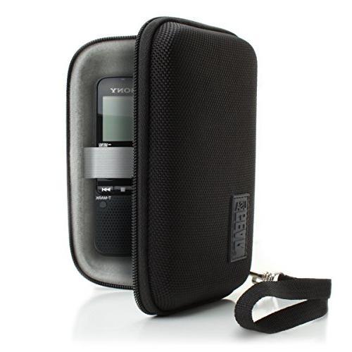 USA Gear Protective Hard Shell Digital Voice Recorder Slim C