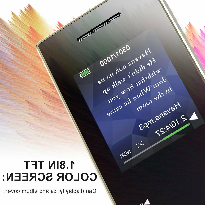 AGPTEK Metal MP3 16GB