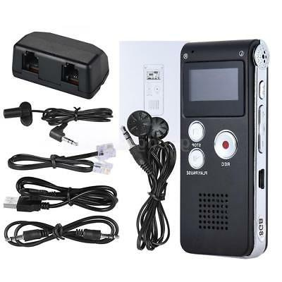 audio voice recorder rechargeable dictaphone