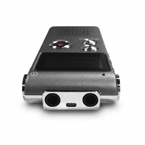 Voice Activated Mini Spy Digital Sound Dictaphone 8GB