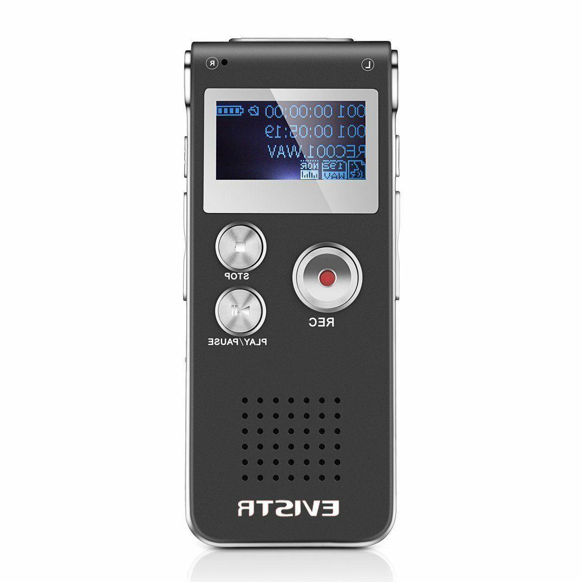 Best Mini Voice Recorder 8GB 560Hrs Capacity New Digital Aud